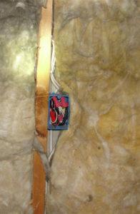 Gaps in FIberglass Batt Insulation